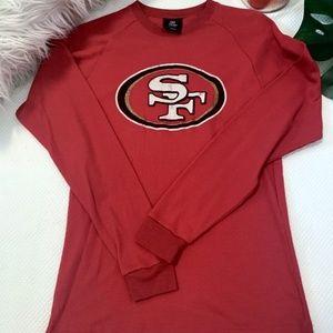 SF 49ers Long Sleeve Thermal